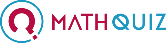 Math quiz logo