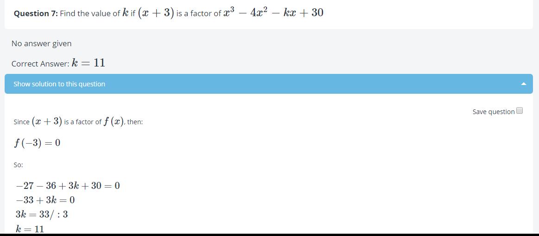 Math test to learn, revise - Math Quiz - math tests online